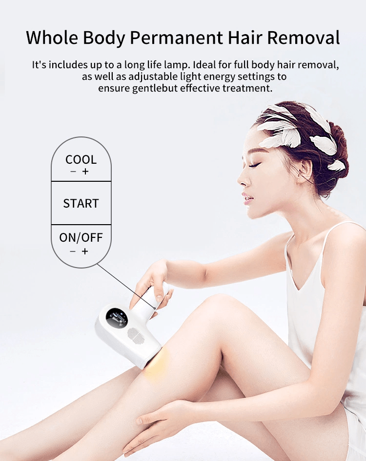 Cold IPL Hair Remover