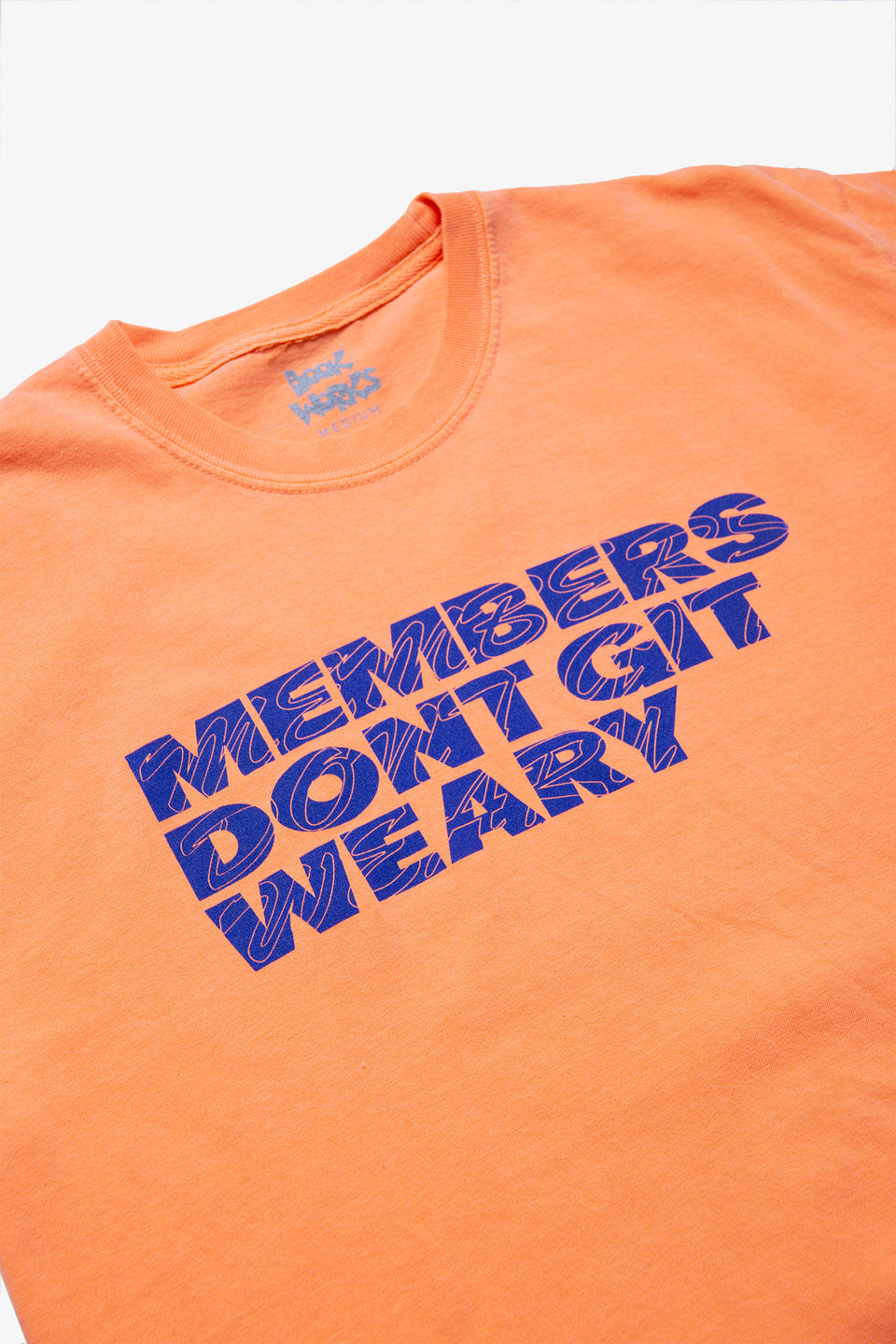 Book Works Members Don't Git Weary Tee Calculus Victoria BC Canada