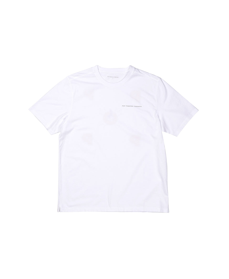 Pop Trading Company AW20 FW20 Joost Swarte T-Shirt White Calculus Victoria BC Canada