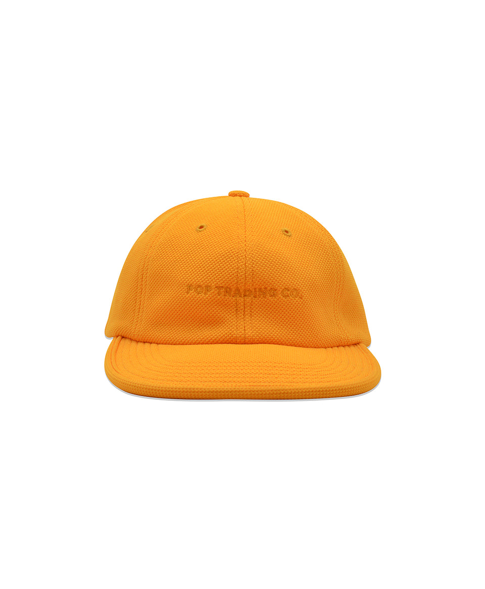 Pop Trading Company SS20 Flexfoam 6 Panel Hat Burnt Yellow Diamond Calculus Victoria BC Canada