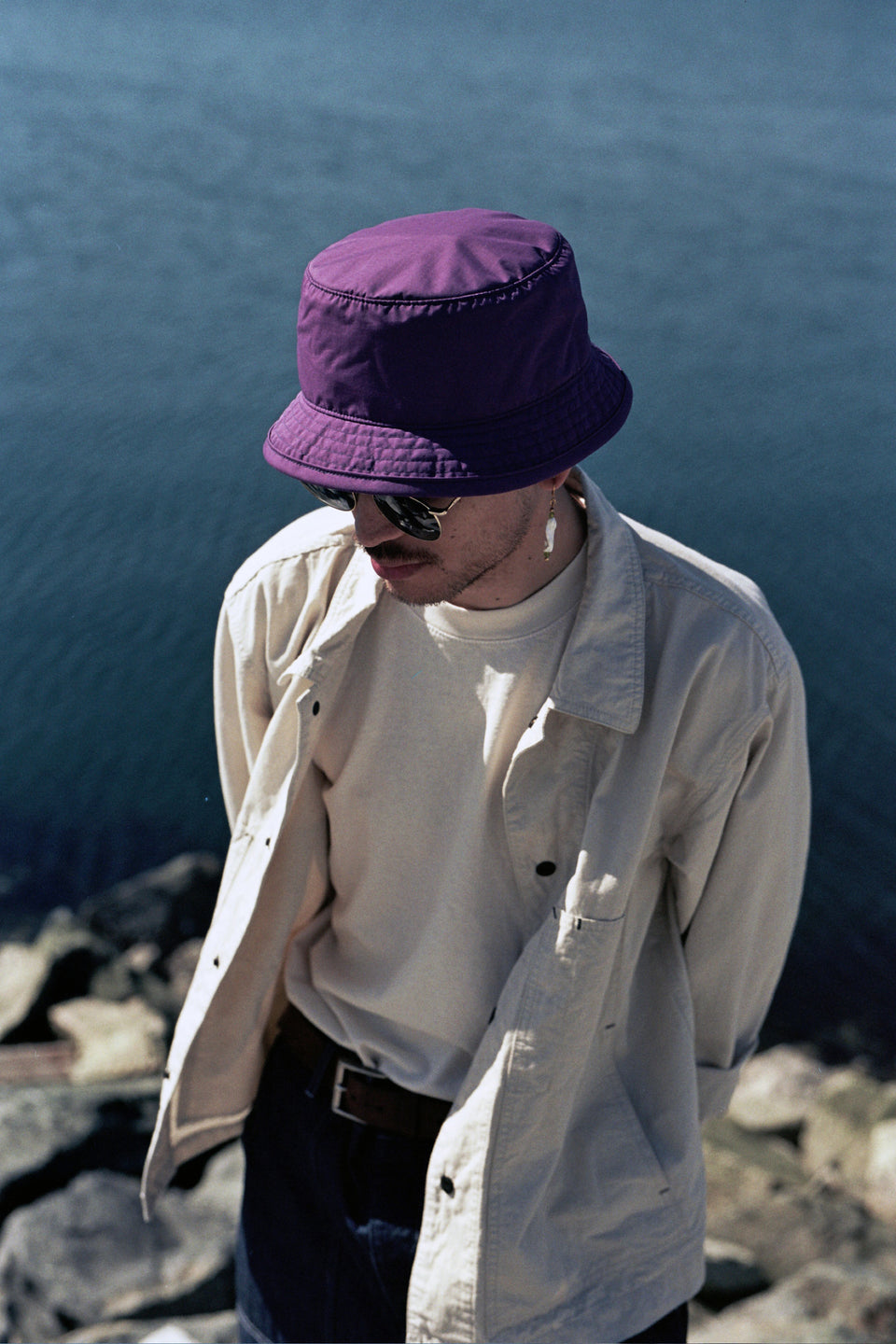 Found Feather SS21 Packable Boonie Crusher Hat Toray Purple Calculus Victoria BC Canada