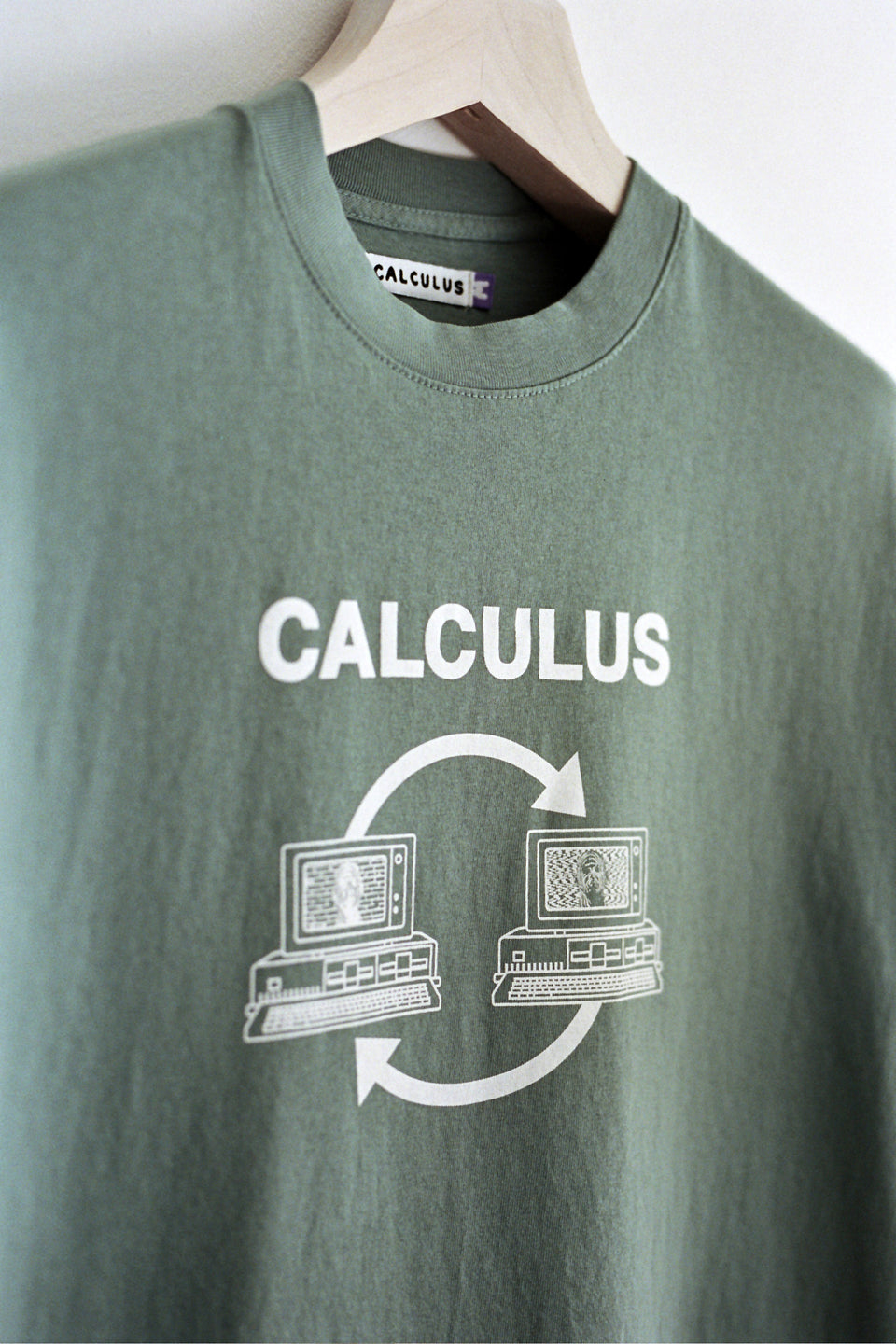 Calculus Computer Club Tee Atlantic Green Calculus Victoria BC Canada