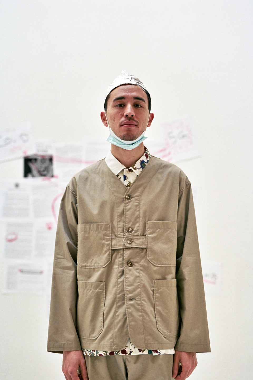 Engineered Garments New York Nepenthes SS21 Cardigan Jacket Khaki Highcount Twill Calculus Victoria BC Canada