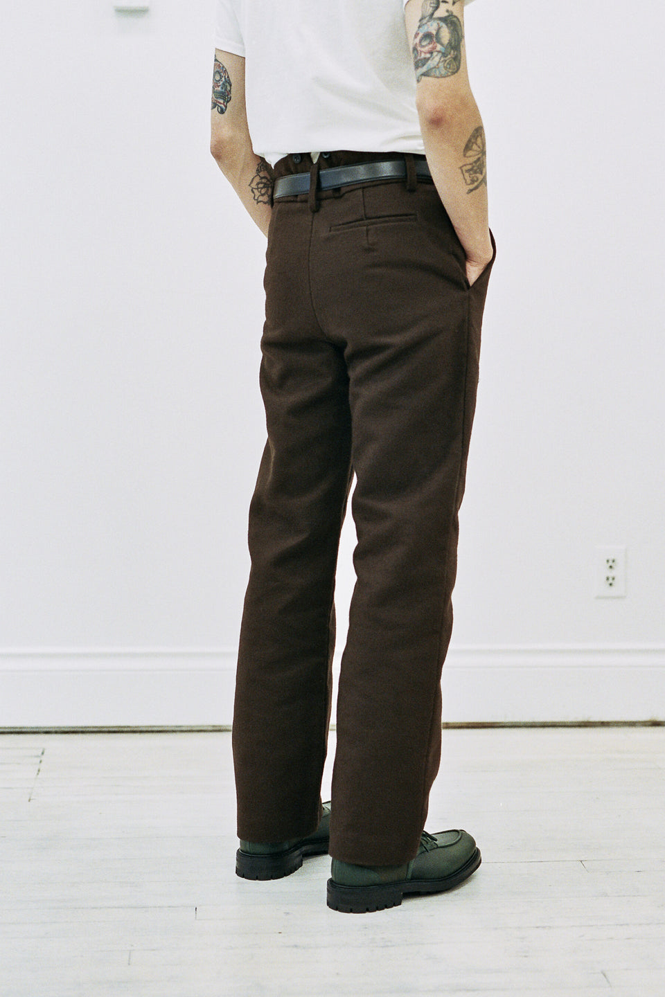 Frank Leder Deutschleder Pants Brown