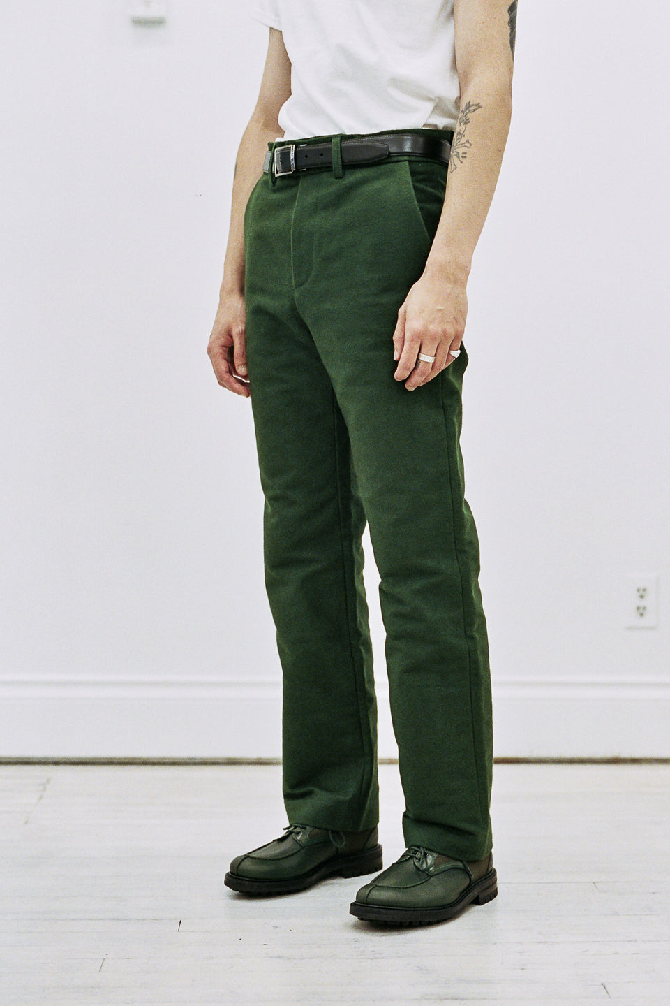 Frank Leder Deutschleder Pants Green