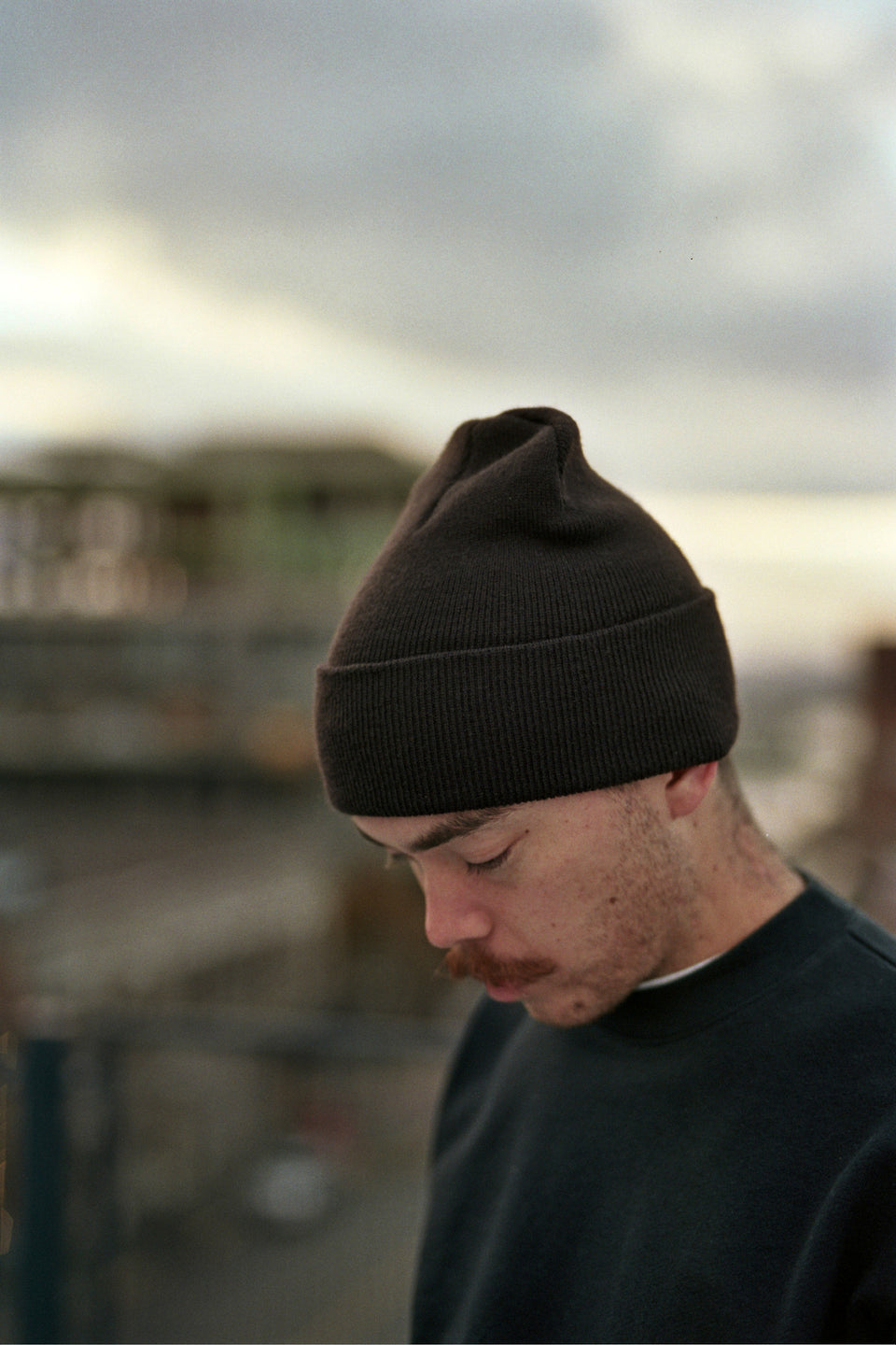 Calculus Knit Beanie Dark Brown Calculus Victoria BC Canada