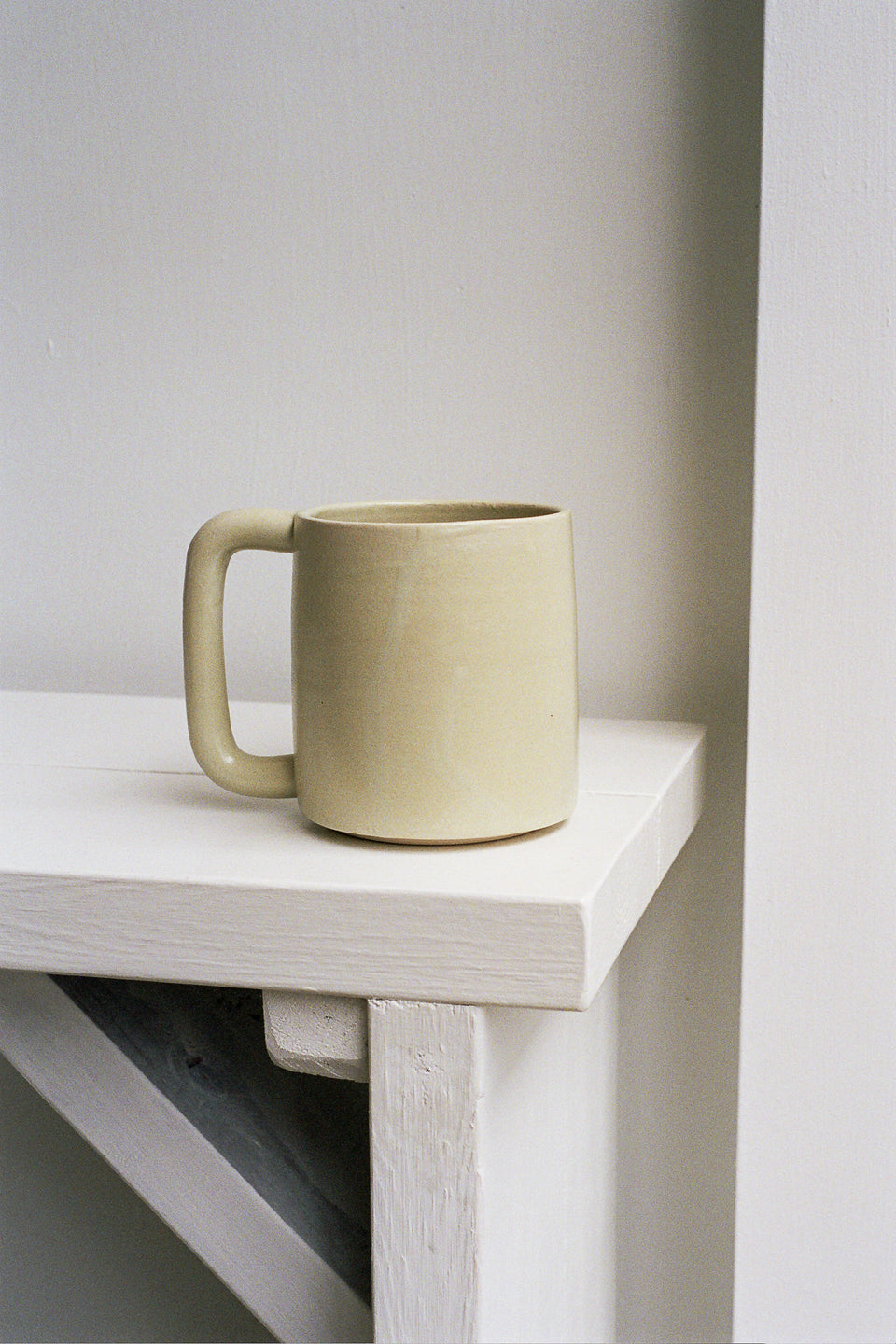 Rachel Saunders Ceramics Limon Long Handle Mug