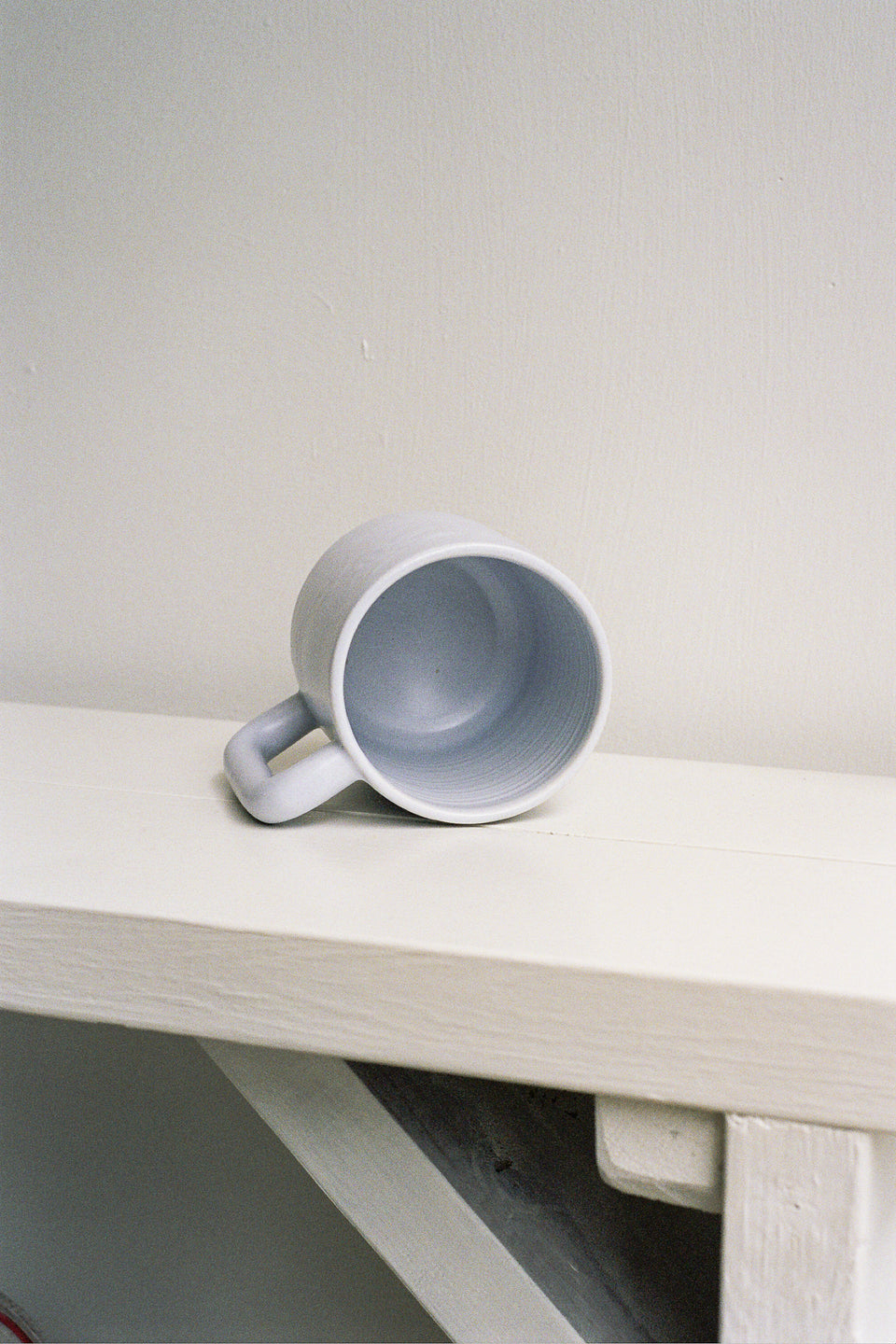 Rachel Saunders Ceramics Periwinkle Long Handle Mug