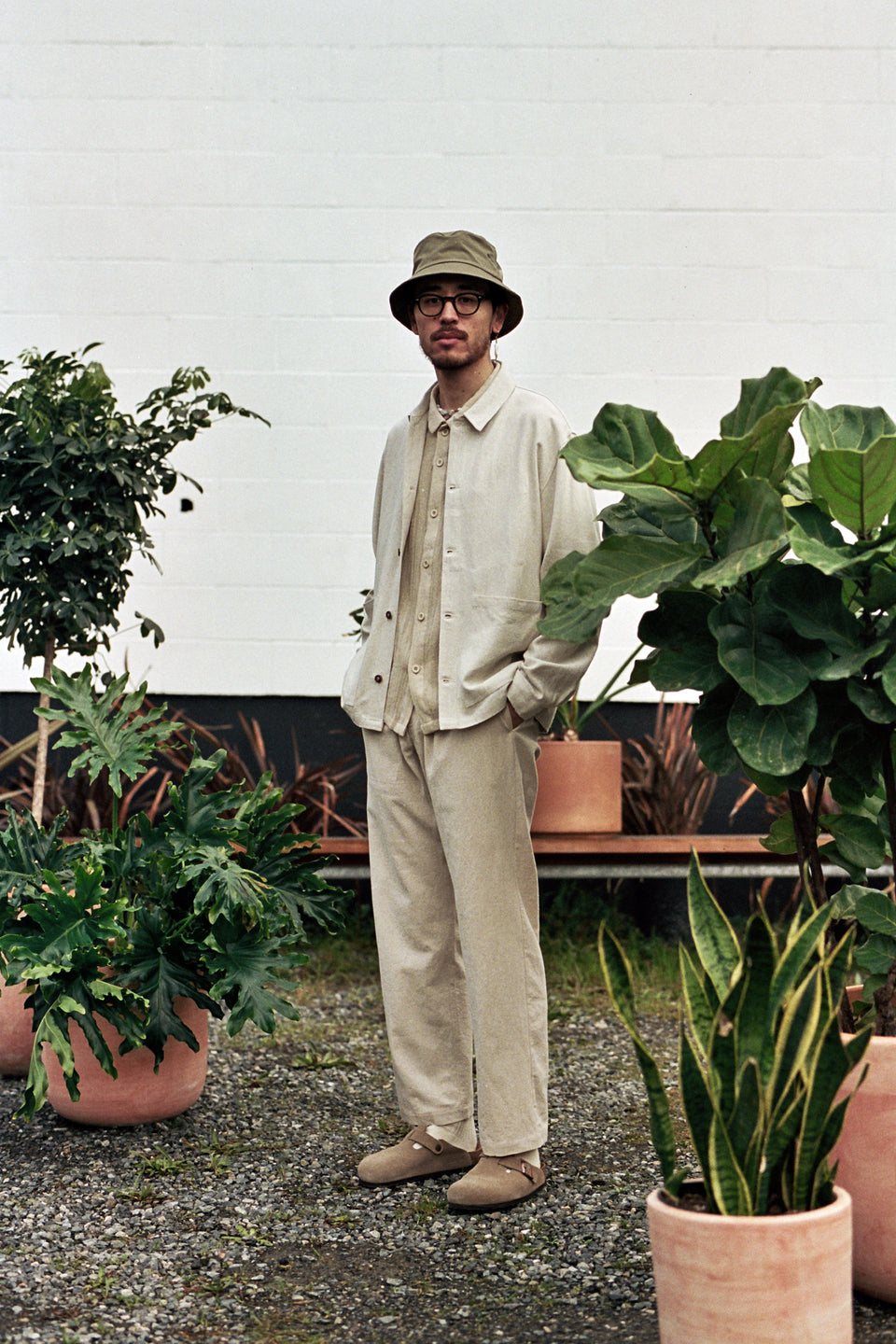 Satta SS21 Sprout Jacket Linen Undyed Ecru Calculus Victoria BC Canada