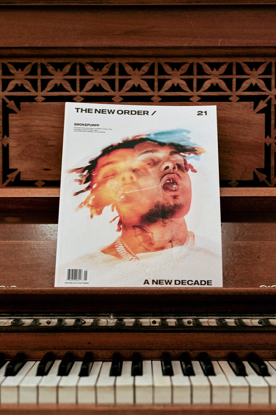 The New Order Magazine Vol. 21 - SMOKEPURPP