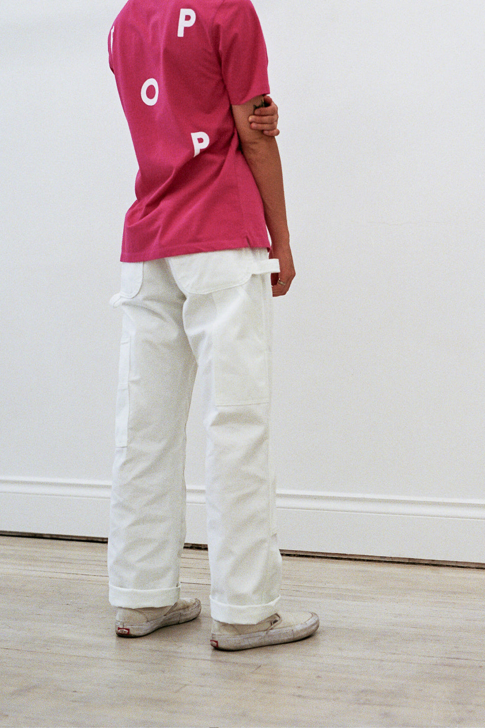 Dickies Regular Fit Double Knee Utility Pant White