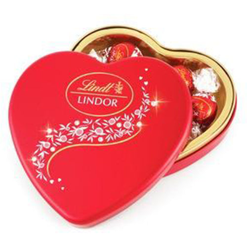 Lindt Chocolate Heart Tin 147g