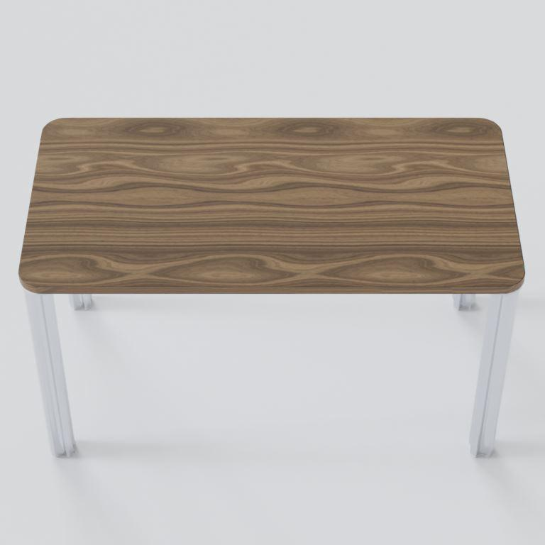 Walnut Desk Desk Chassie