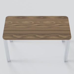 Walnut Essential Desk Desk Chassie
