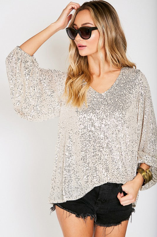 The Sequin Top