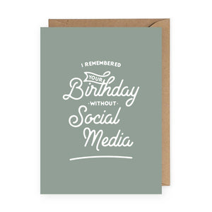 The Anastasia Co - I Remembered Your Birthday Without Social Media