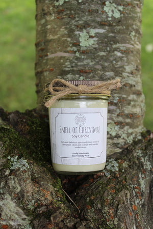 Coastal Threads - Smell of Christmas Soy Candle