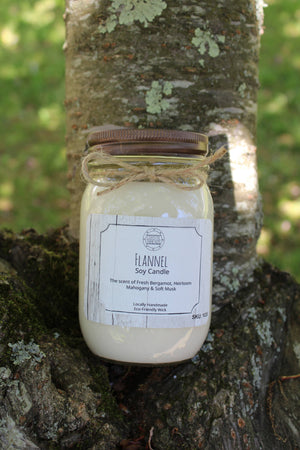 Coastal Threads - Flannel Soy Candle