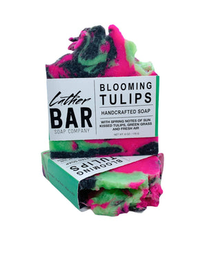 Lather Bar Soap Company - Blooming Tulips Soap