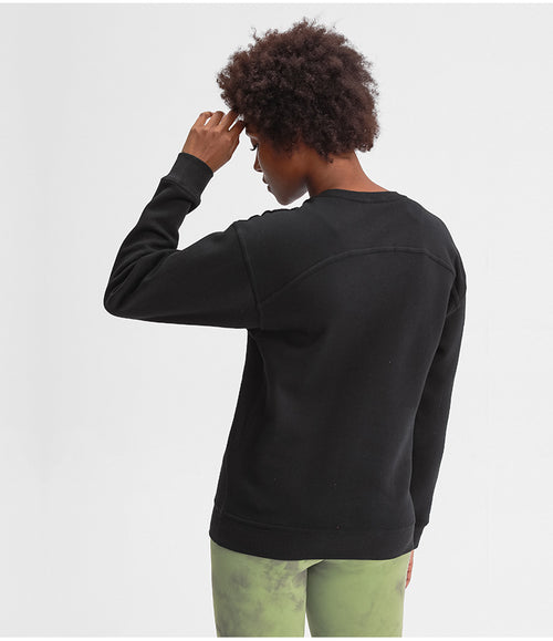 LONG SLEEVE OVERSIZED SWEATSHIRT (BLACK)