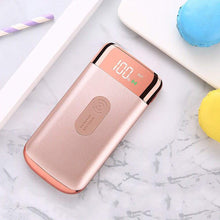 Load image into Gallery viewer, Rose Gold Wireless Portable Qi Charger