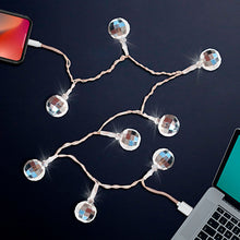 Load image into Gallery viewer, Disco Ball LED Light-Up Charging Cables