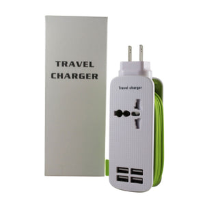 Green Multi Universal Travel Charger
