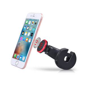 Red Magnetic Back Seat Phone Holder