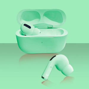 Green Bluetooth Earbuds