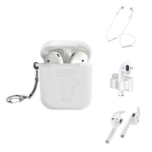 White AirPod 5 Piece Bundle