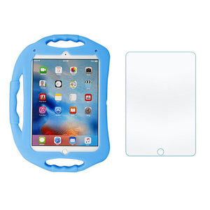 Blue Kids Apple iPad Case With Screen Protector