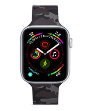 Load image into Gallery viewer, Black Camo Apple Watch Band