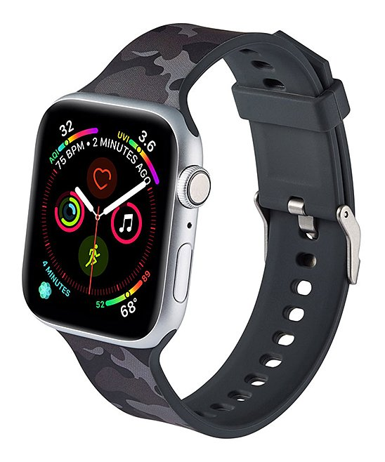 Black Camo Apple Watch Band