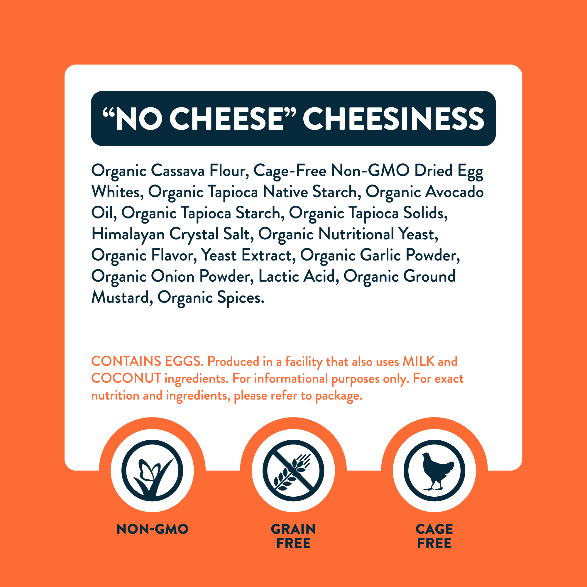 """No Cheese"" Cheesiness"