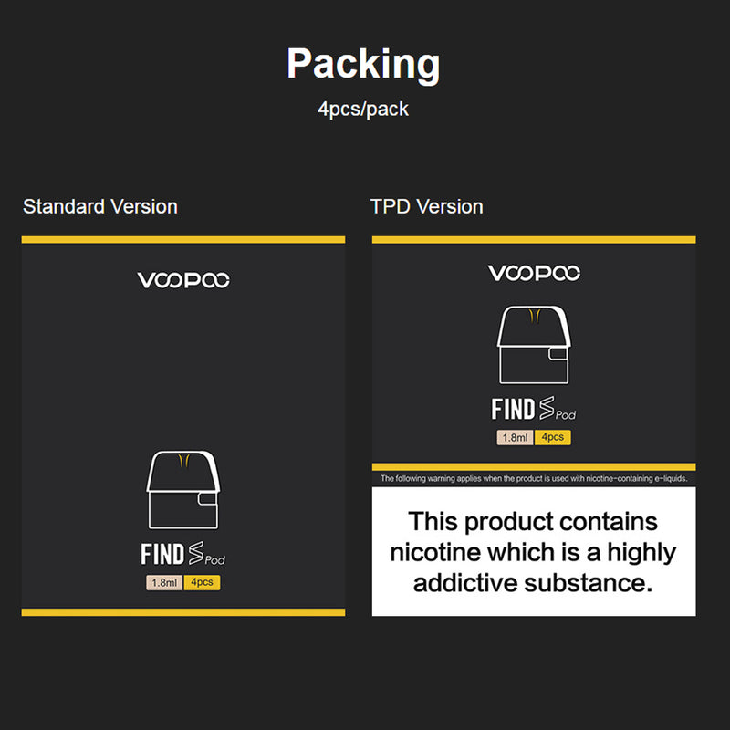 VOOPOO Find Pod Cartridge