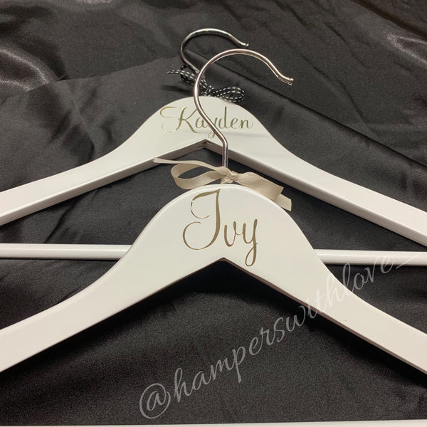Children's personalised hangers