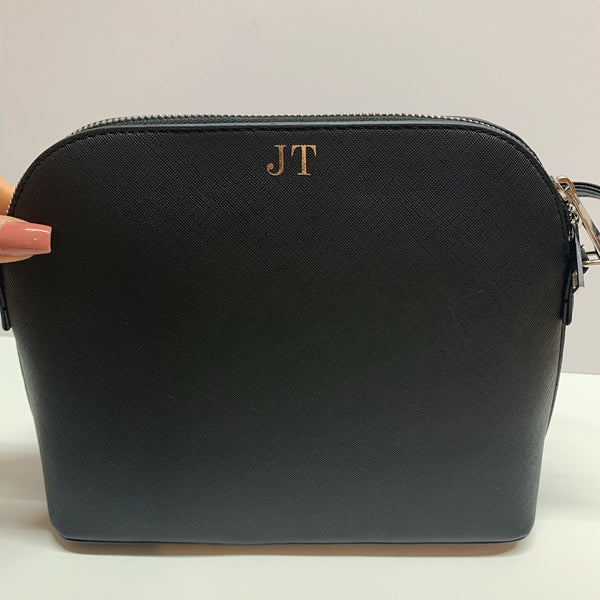 Monogram cross body bag