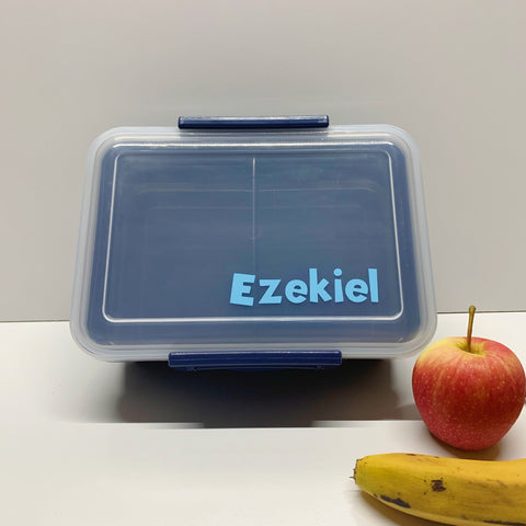 Personalised lunch box