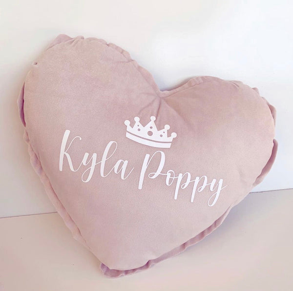 Personalised kids pillow