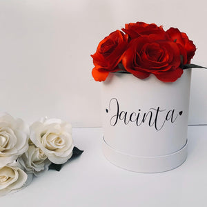 Personalised flower box