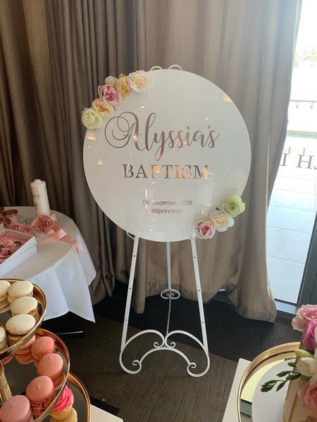 Personalised board & easel