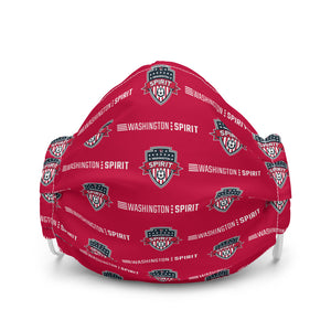 Washington Spirit Face Mask Red