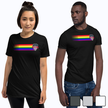 Load image into Gallery viewer, Pride Ribbon Short-Sleeve T-Shirt Unisex