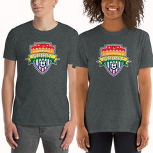 Load image into Gallery viewer, Pride Logo Short-Sleeve T-Shirt Unisex
