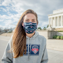 Load image into Gallery viewer, Washington Spirit Face Mask Blue