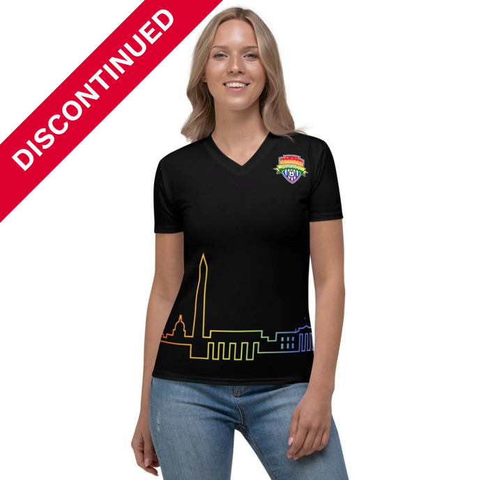 Spirit DC Pride Women's V-Neck