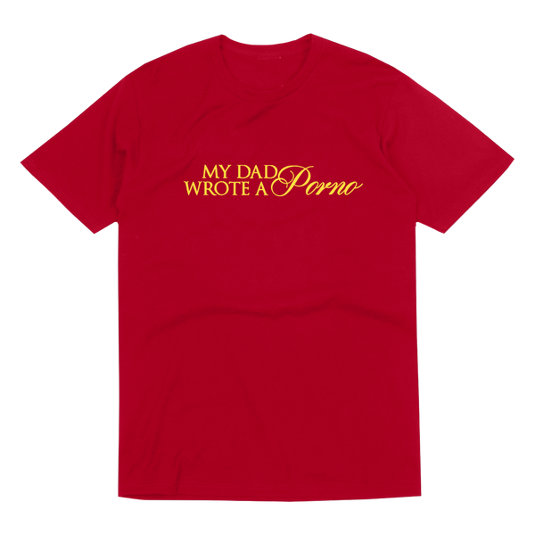 RED MDWAP LOGO T-SHIRT