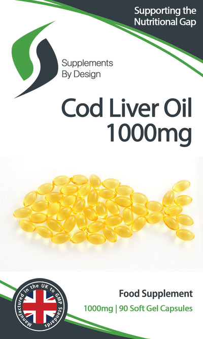 Cod Liver Oil Capsules 1000mg