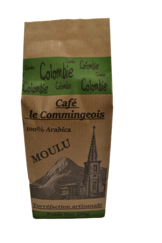 Café moulu Colombie 100% Arabica (250g) (4295259947093)