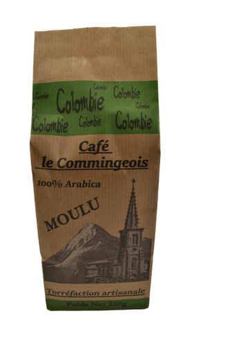 Café grain Colombie 100% Arabica (250g) (4396910805077)